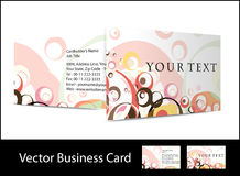 Business card set. Vector business card set , elements for design Stock Images