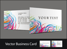 Business card set. Vector business card set , elements for design Royalty Free Stock Images