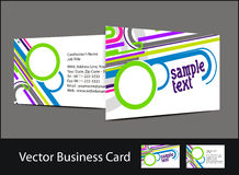 Business card set. Vector business card set , elements for design Royalty Free Stock Photos