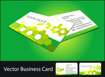 Business card set Stock Photography