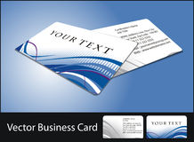 Business card set Royalty Free Stock Photo