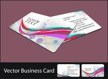 Business card set. Vector business card set illustration Stock Photo