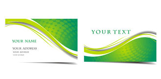 Business card set Royalty Free Stock Photography