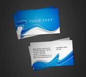 Business card set. Vector business card set, elements for design Stock Images