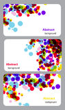 Business-Card Set Royalty Free Stock Images