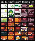 Business Card Set Royalty Free Stock Image
