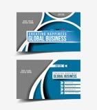 Business Card Set Royalty Free Stock Photos