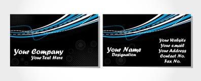 Free Business Card Set On Black Stock Photos - 13418353