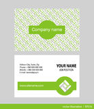 Business Card Set. Stock Images