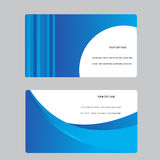 Business Card Set Stock Photos