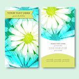 Business Card Set.  Vector illustration. EPS10 Royalty Free Stock Images