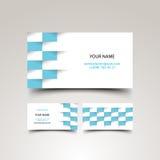 Business card set Stock Image