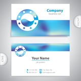 Business card - ship window - marine Equipment Stock Images