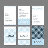 Business card simple design Royalty Free Stock Photo