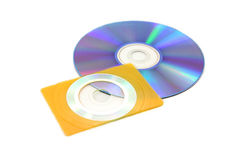 Business card size cd Royalty Free Stock Images