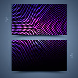 Business card template. Abstract  background Royalty Free Stock Photography