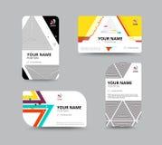 Business card template, business card layout design, vector illu Stock Photo