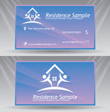 Business Card Template Royalty Free Stock Image