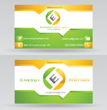Business Card Template Stock Images