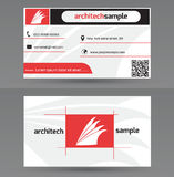 Business Card Template Stock Image