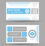 Business Card Template Royalty Free Stock Photography