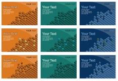 Business card template design Stock Photos