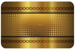 Business card template. Stock Photos