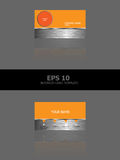 Business Card Template Design Stock Photography