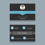 Business Card Template. Business card designs. Easy to adapt. Business vector set Stock Image