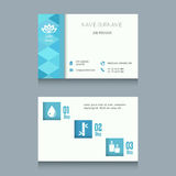 Business Card Template. Business card designs. Easy to adapt. Business vector set Stock Photography