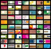 Business Card Template-Set2 stock illustration