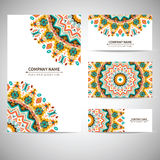 Business card template. Vector illustration in Stock Photo