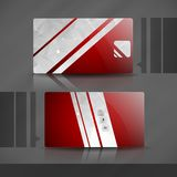 Business Card Template. Royalty Free Stock Image