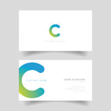 Business card template vector simple Stock Images
