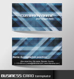 Business card template or visiting card set Stock Images