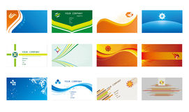 Business card templates Royalty Free Stock Photography