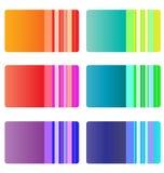 Business card templates. stock illustration