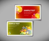 Business card templates Stock Photos