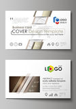 Business card templates. Easy editable layout, abstract vector design template. Alchemical theme. Fractal art background Royalty Free Stock Image
