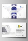 Business card templates. Easy editable layout, abstract vector design template. Shiny fabric, rippled texture, white  Royalty Free Stock Images