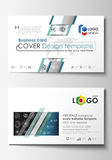 Business card templates. Easy editable layouts, flat style template, vector illustration. High tech design, connecting. System. Science and technology concept vector illustration