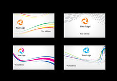 Business card templates to choose from. A business card templates to choose from Royalty Free Stock Image