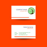 Business card with tree,circle ornament background. Business card vector background with a tree in a circle ornament background Vector Illustration
