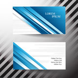Business card. Use any size Stock Photography