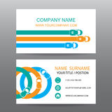 Business card vector background,car salesman Stock Image