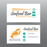 Business card vector background,Restaurant staff Stock Photo