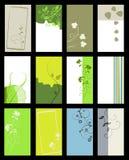 Business card - vector collection Stock Photos