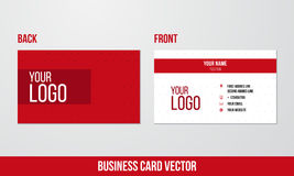 Business Card Vector Stock Images