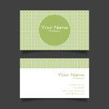 Business card vector template Royalty Free Stock Photography