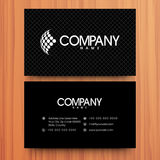 Business card or visiting card design. Stock Photo